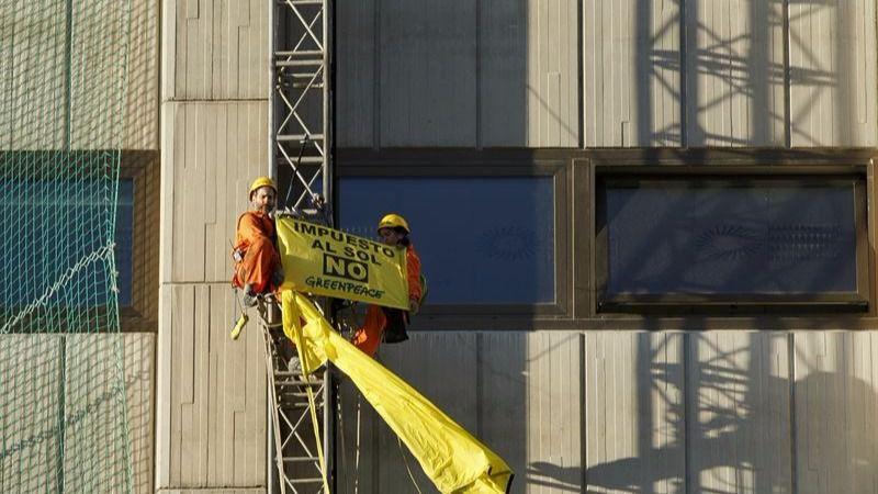 Greenpeace propone soluciones al Gobierno ante la subida