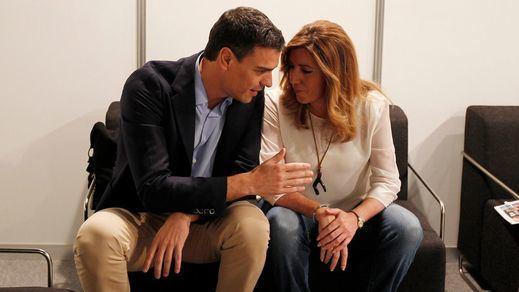 Sánchez reta a Díaz en su propia 'casa'