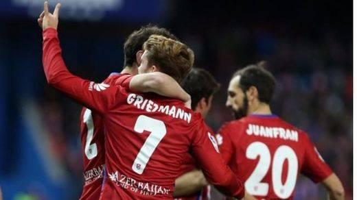 Copa: Atlético (3-0 al Eibar) y Barça (0-1 en Anoeta) sacan billete para semifinales
