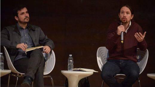 Iglesias refuerza su apuesta por avanzar en la unión de Podemos e IU con el apoyo de Garzón