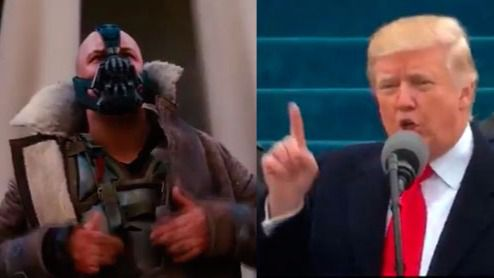 Donald Trump plagió al malo de Batman