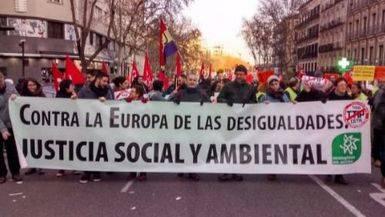 Manifestación CETA