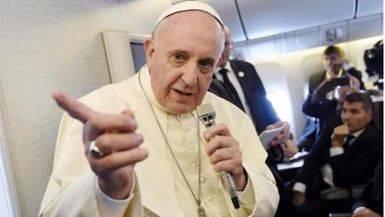 El Papa alerta del peligro de