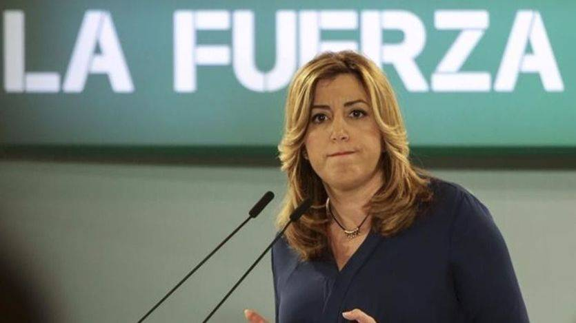 Susana Díaz comienza su gira nacional con poco éxito y entre abucheos