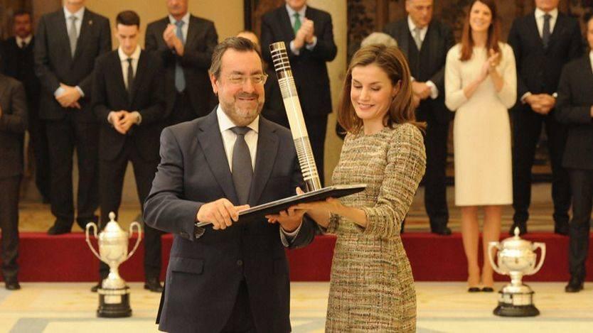 Miguel Carballeda, Premio Nacional de Deporte por el apoyo a las personas con discapacidad