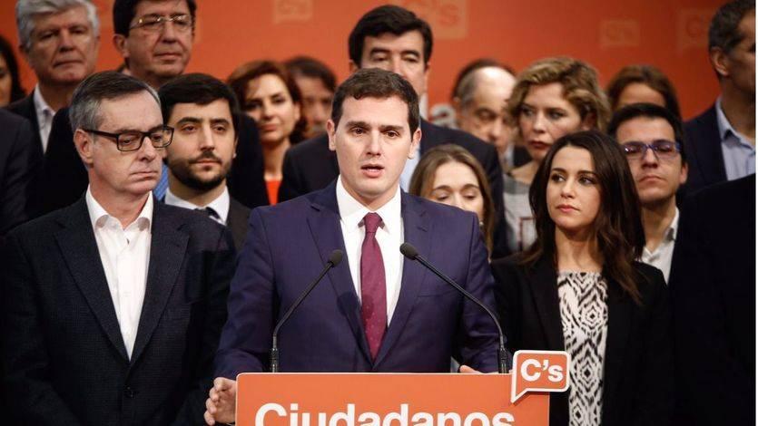 Rivera refuerza a Villegas y Arrimadas e incorpora a Toni Cantó en su ejecutiva para Ciudadanos