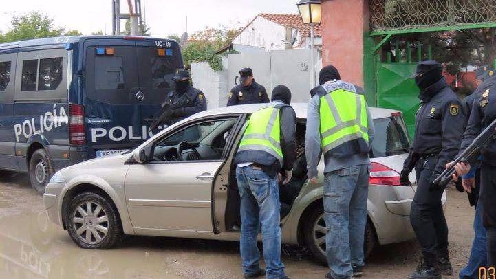 La Policía Nacional desarticula en Madrid una supuesta célula terrorista yihadista activa que estaba dispuesta a atentar en la capital