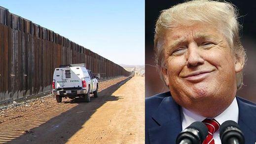 El muro de la frontera con México ya es un proyecto hecho realidad: Trump firma la orden