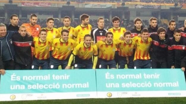Los independentistas sólo quieren permitir a la 'Roja' jugar en Barcelona para un Cataluña-España