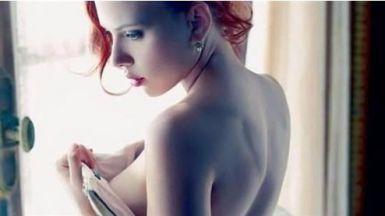Scarlett Johansson se separó en verano de su marido Romain Dauriac