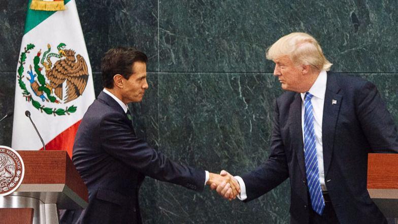 En una sola semana de mandato de Trump ya se ha desatado el caos: crisis diplomática con México