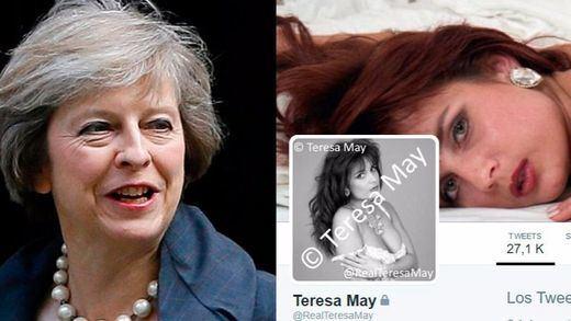 La Casa Blanca convierte por error a Theresa May en actriz porno