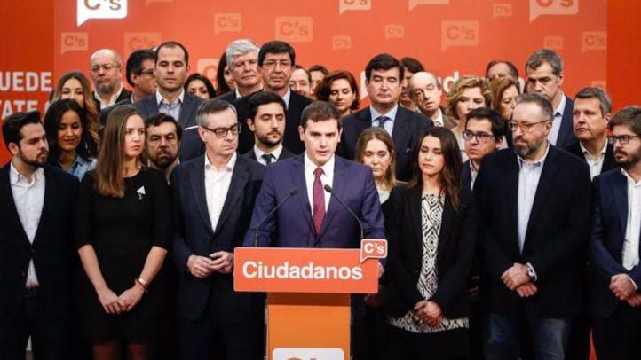 Rivera revalida la presidencia de Ciudadanos en unas primarias con baja participación