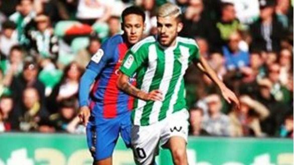 El Betis le complica la vida al Barça, que ya estaba de fiesta ante la crisis blanca (1-1)