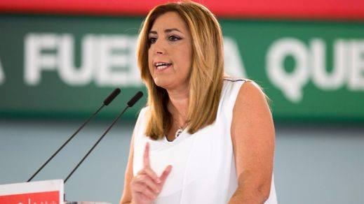 Susana Díaz contesta a Sánchez sin nombrarle: es hora de ser