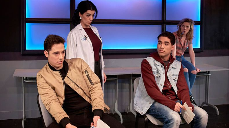 '#malditos16': la gran crisis vital de nuestros adolescentes sube al escenario del teatro público