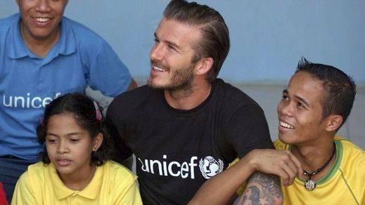 'Football Leaks' mancha ahora la imagen solidaria de David Beckham