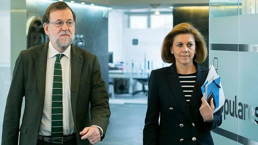Rajoy mantendrá a Cospedal como secretaria general del PP tras el congreso