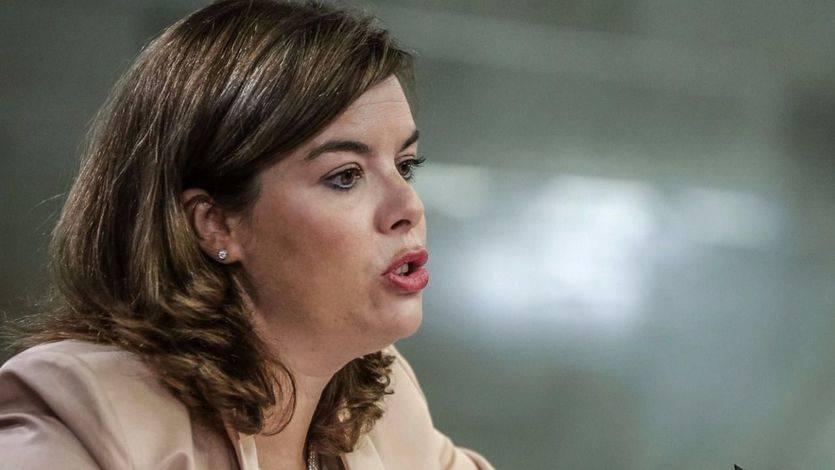 Soraya Sáenz de Santamaría, sobre el juicio del 9-N: 'La vida no se paraliza por los procesos que afectan a sus gobernantes'