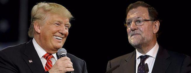 Trump y Rajoy hablarán esta noche por teléfono por segunda vez