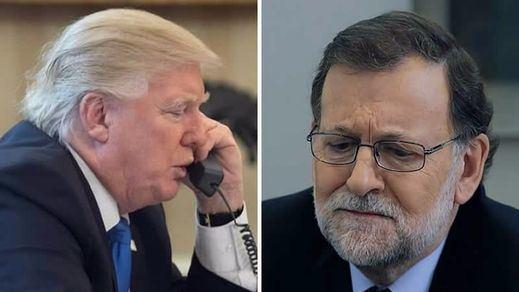 Trump encandila a Rajoy en 15 minutos que reforzarán las relaciones entre España y EEUU