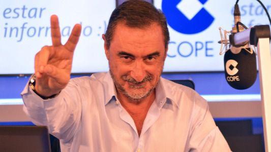 Carlos Herrera, Luis del Olmo, José María García e Iñaki Gabilondo, juntos en 'El día Mundial de la Radio'