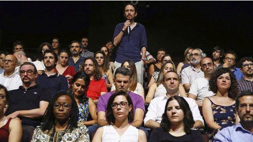 Alta participación en la militancia de Podemos para sentenciar la batalla entre Iglesias y Errejón