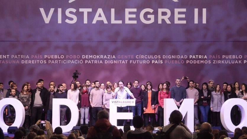 Nuevo récord de participación en Podemos con los 155.000 votos en Vistalegre II