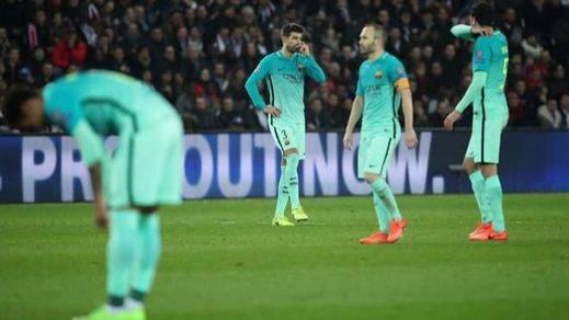Champions: el PSG torea y da cuatro estocadas mortales a un Barça manso y horroroso (4-0)