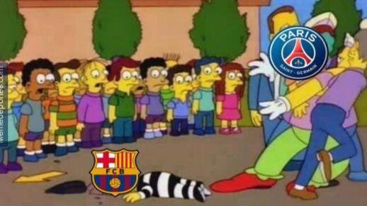 Los mejores y más graciosos memes del PSG-Barça (4-0)