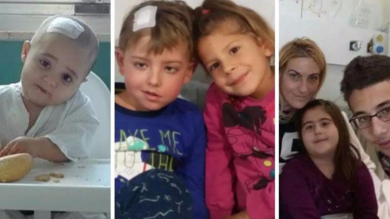 Ana, José David y Lucía, ejemplos de la lucha contra el cáncer infantil