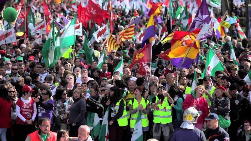 Las Marchas de la Dignidad preparan una gran manifestación en toda España para el 25-F