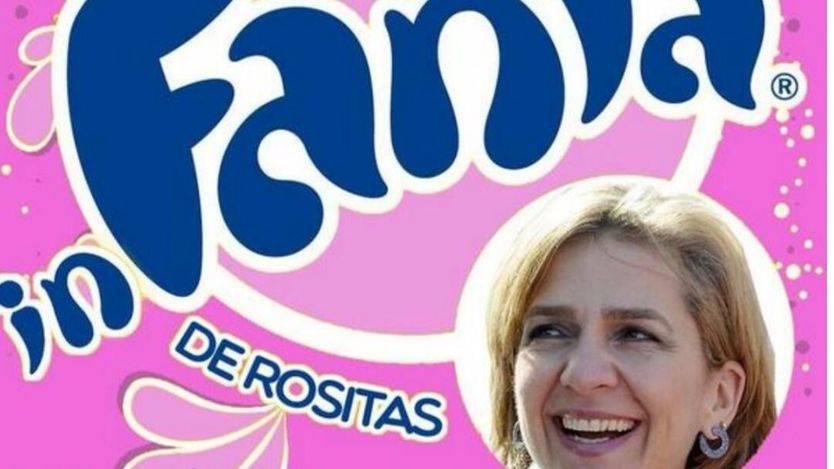 Meme de la infanta Cristina
