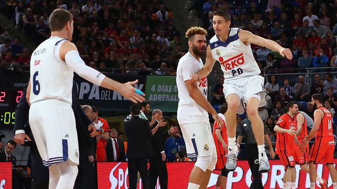 El Madrid de basket se bebe su cuarta Copa consecutiva (97-95)