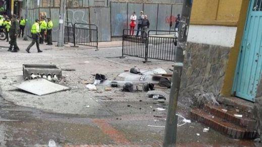 Un policía muerto y 9 heridos en un atentado junto a la plaza de toros de Bogotá poco antes de un festejo (vídeo)