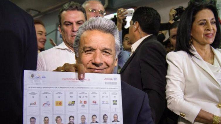 Elecciones en Ecuador: el sucesor de Correa, Lenín Moreno, a punto de ganar y evitar la segunda vuelta