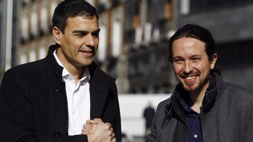 Sánchez propone gobernar con Podemos e IU, pactar con sindicatos y defender un Estado plurinacional que calme a Cataluña