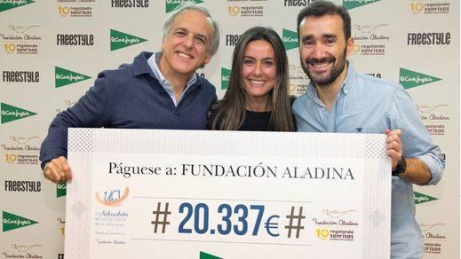 El Corte Inglés dona 20.300 euros a la Fundación Aladina para la nueva UCI del Hospital Niño Jesús