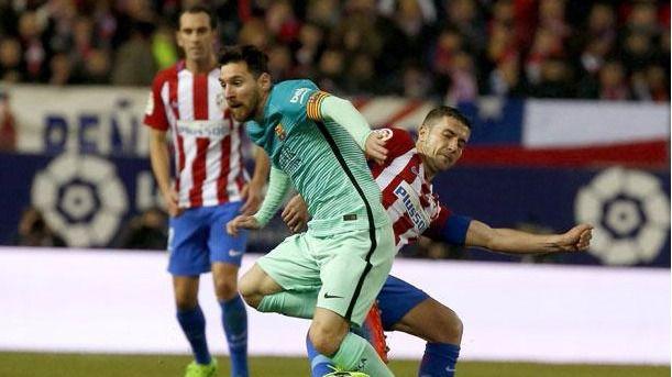 El Barça gana de rebote ante un Atlético sin puntería (1-2)