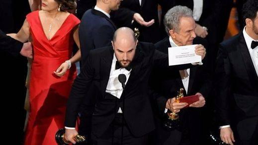 Oscar 2017: 'Moonlight' gana a 'La ciudad de las estrellas (La la land)' tras una metedura de pata histórica