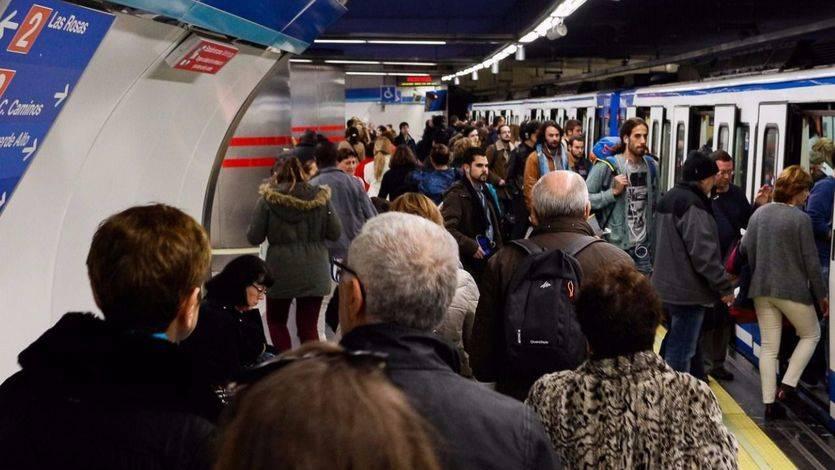Huelga de Metro en Madrid, lunes 27 de febrero: paros parciales con bajo seguimiento