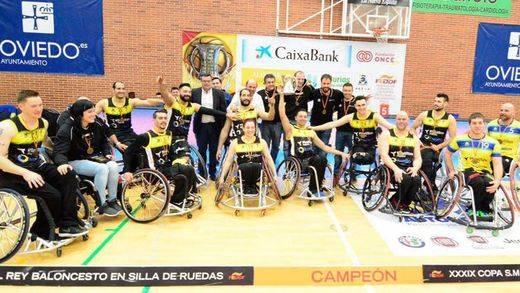 Sigue la 'dictadura' del Ilunion: 7º título copero en Baloncesto en Silla de Ruedas