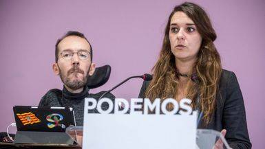 Podemos presionará al Gobierno desde todos los niveles territoriales en favor de la independencia judicial