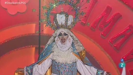 La drag queen que ganó imitando a la Virgen María: ¿libertad creativa o ataque religioso?