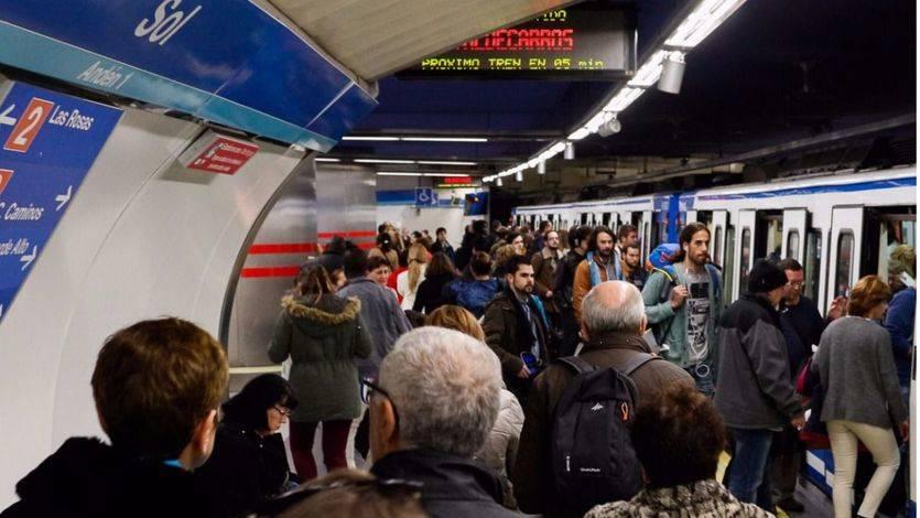 La huelga en el Metro de Madrid continúa este viernes: vea los horarios de los paros
