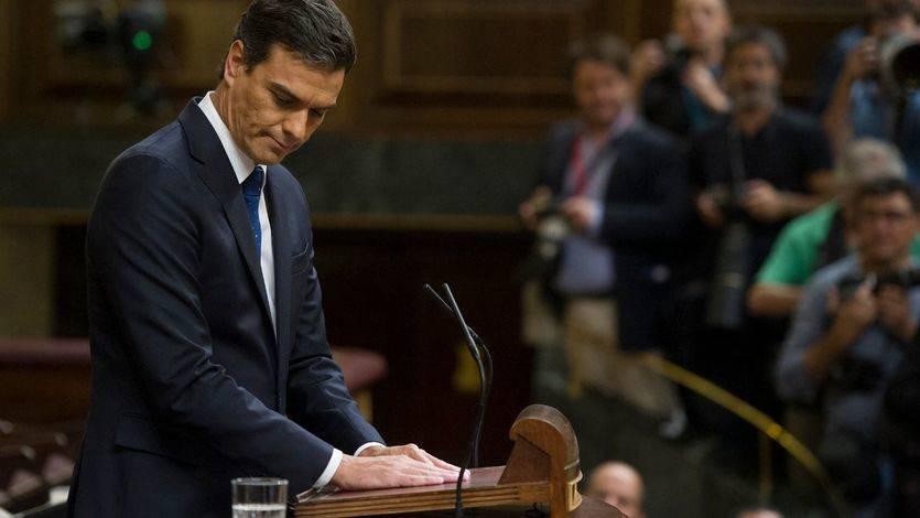 Moción de censura a Rajoy: el dilema que no lo es tanto en el posible futuro PSOE 'sanchista'