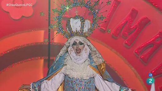 La Fiscalía actúa contra la drag queen del carnaval de Las Palmas por ofender a los católicos