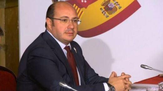 Ciudadanos no tiene clara la moción de censura contra el presidente de Murcia