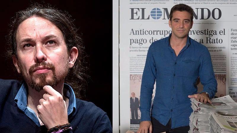 Javier Negre, uno de los periodistas que denuncian acoso de Podemos: 'Quieren convertir a España en Venezuela'