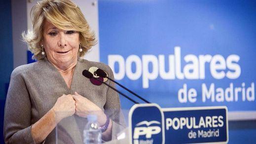 Aguirre insiste en defender su gestión mientras se estrecha el cerco sobre la financiación del PP de Madrid